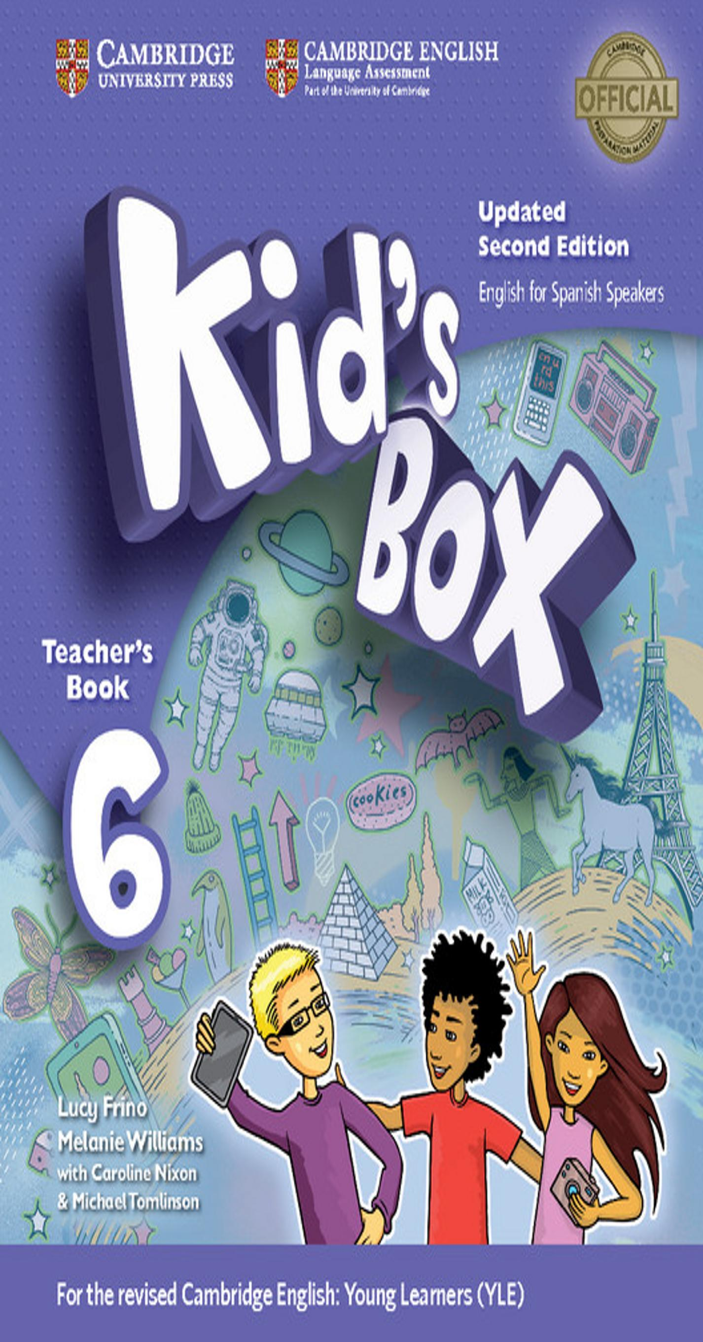 KID´S BOX 6 TB 2nd Ed Updated