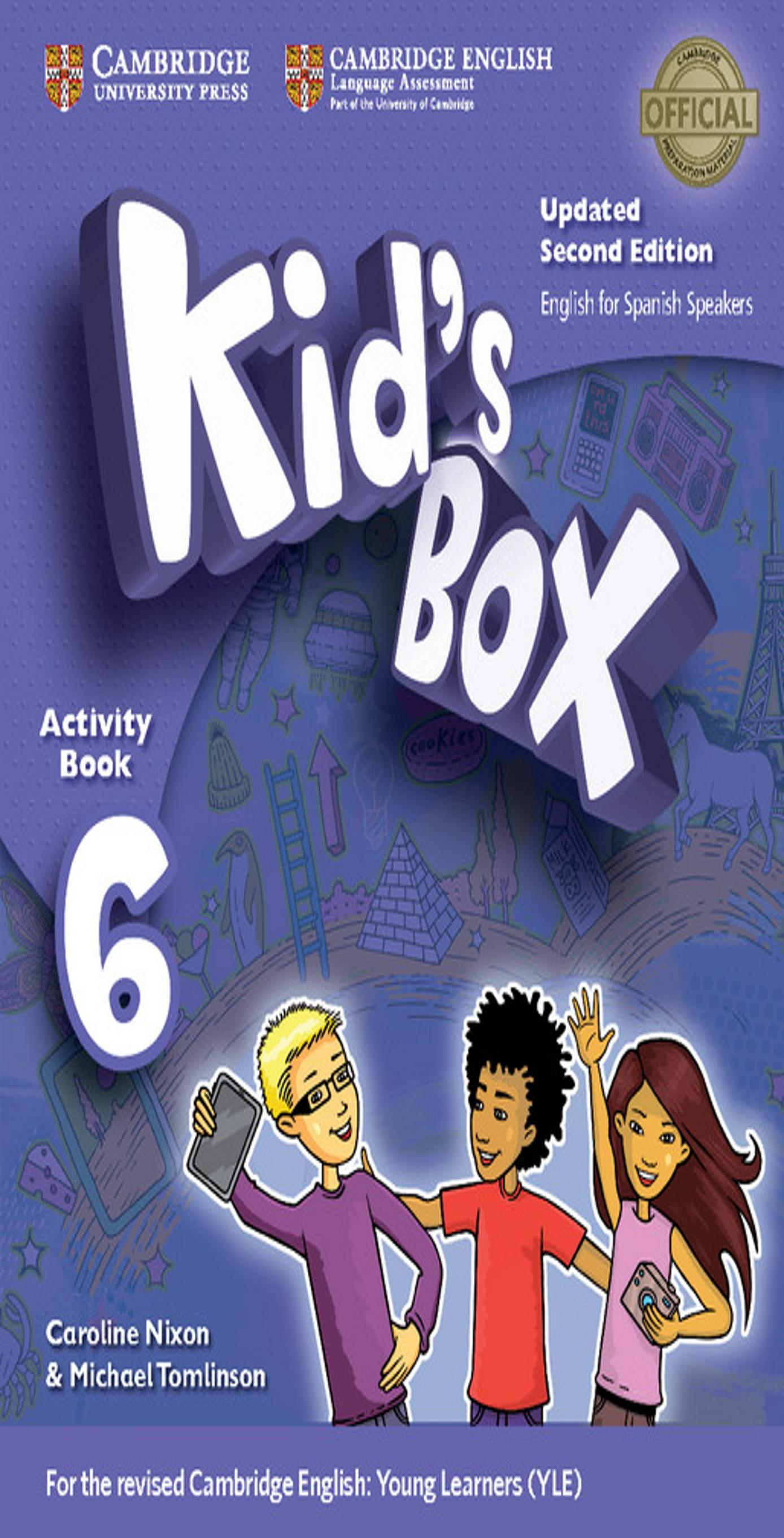 KID´S BOX 6 WB + Online Res + CD ROM + My Home Booklet 2nd Ed Updated