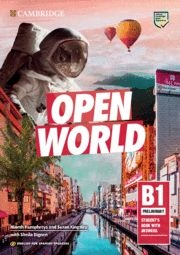 OPEN WORLD B1 PRELIMINARY SB with answers