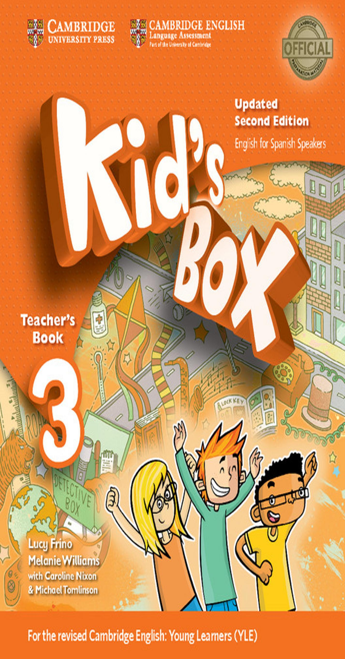 KID´S BOX 3 TB 2nd Ed Updated