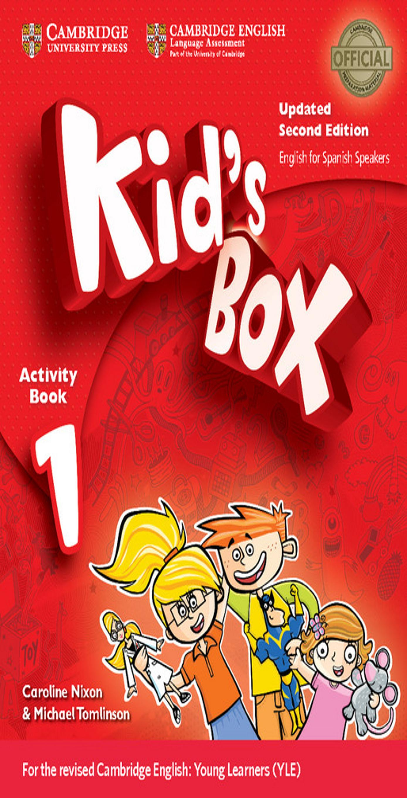 KID´S BOX 1 WB + Online Resources + CD ROM 2nd Ed Updated
