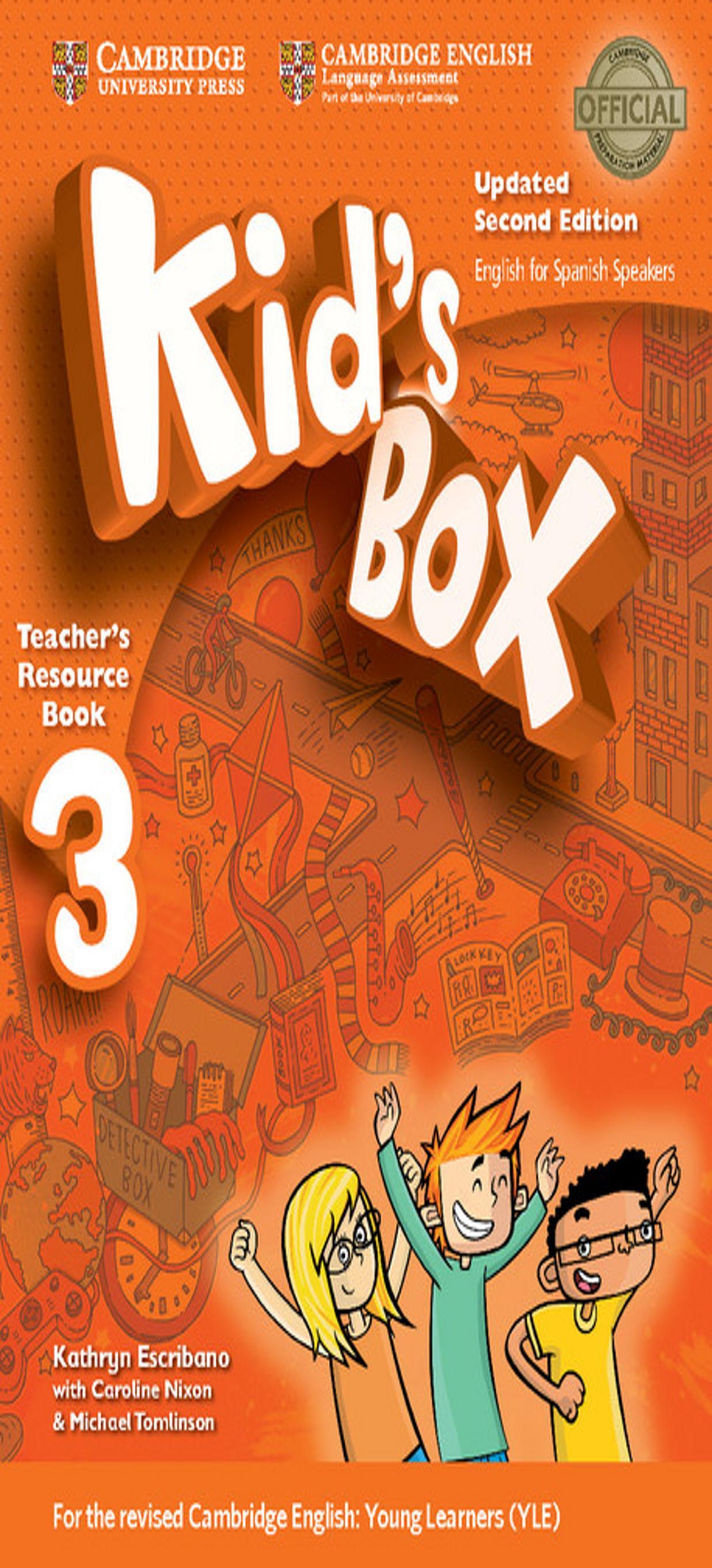 KID´S BOX 3 Teacher´s Resource Book + Online Audio 2nd Ed Updated