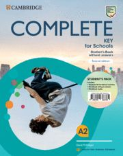 COMPLETE KEY FOR SCHOOLS (KET) SB + WB + Audio Ed 2020 Eng Sp Spe 2nd