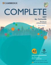 COMPLETE KEY FOR SCHOOLS (KET) WB + Audio  Ed 2020  Eng Sp Speak 2nd