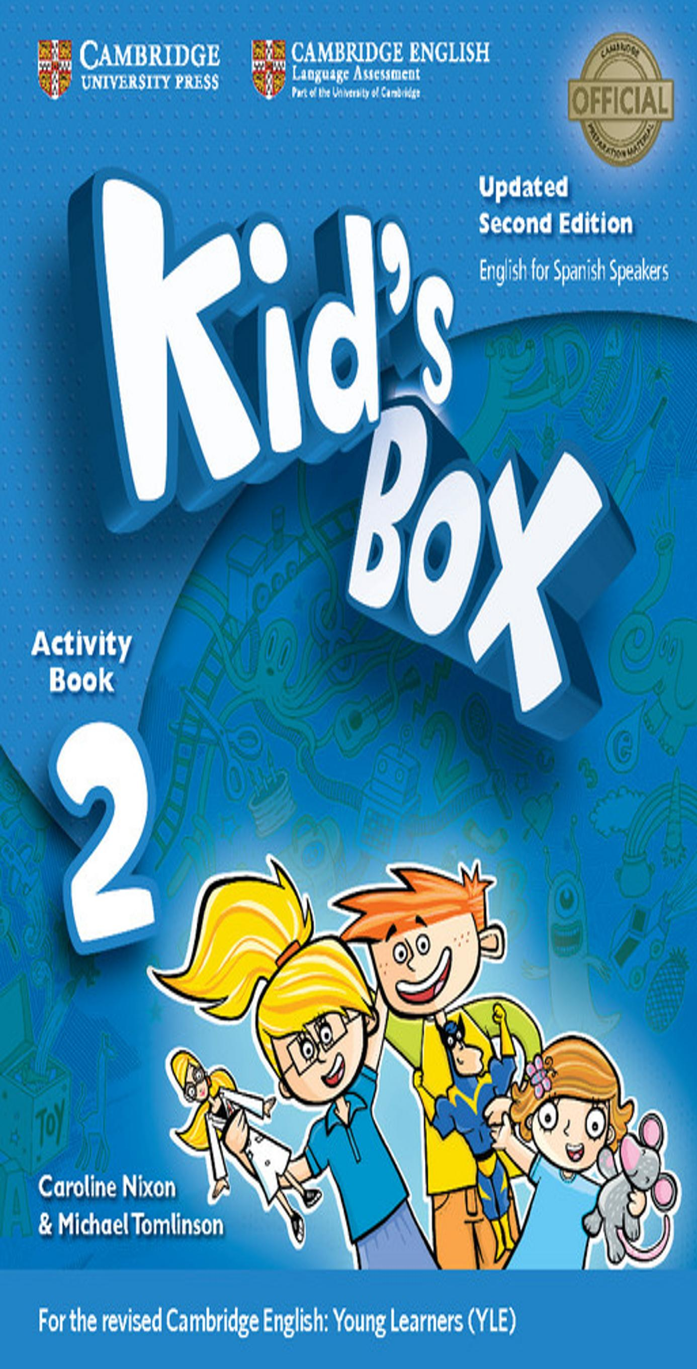 KID´S BOX 2 WB + Online Resources + CD ROM 2nd Ed Updated
