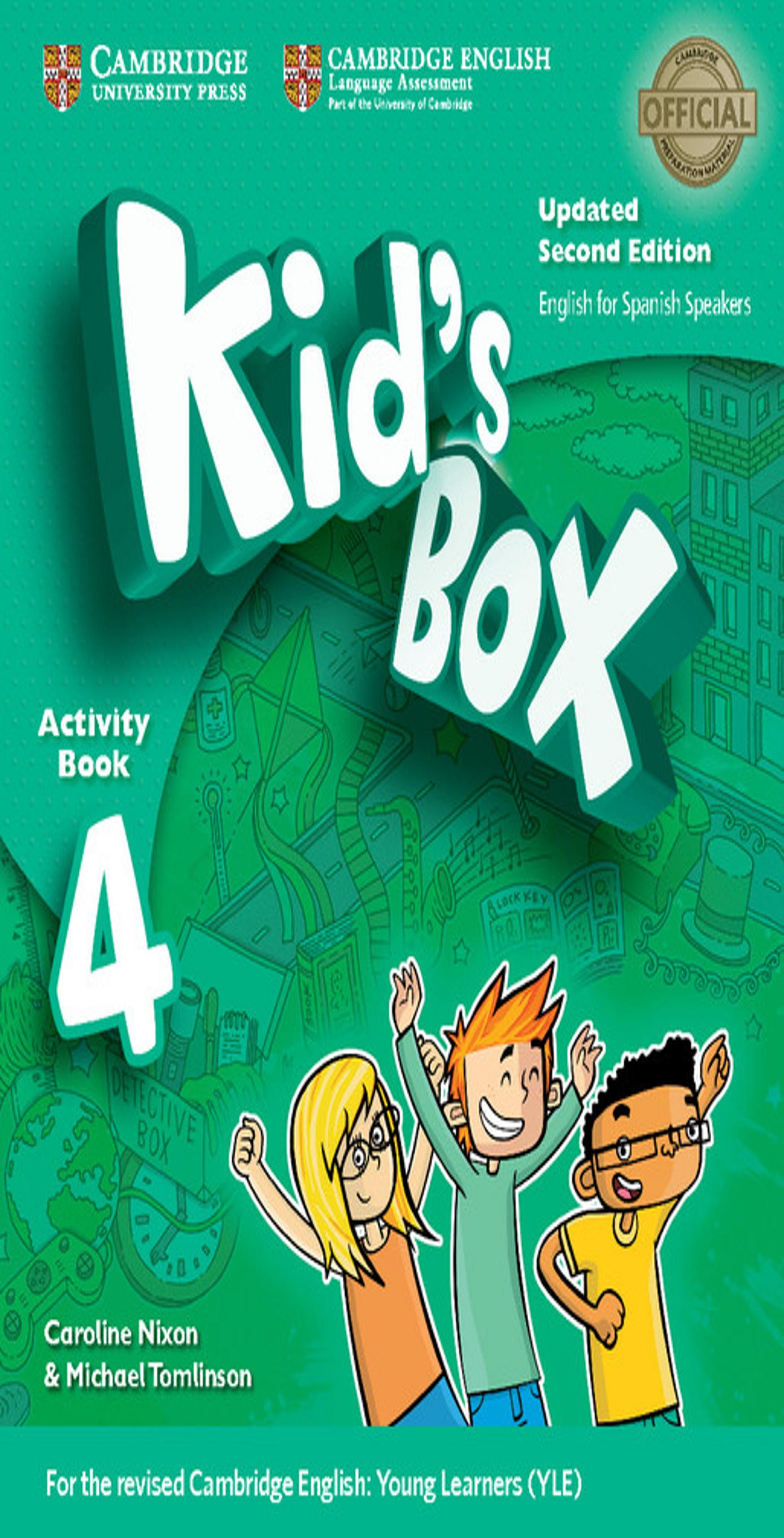 KID´S BOX 4 WB + Online Res + CD ROM + My Home Booklet 2nd Ed Updated