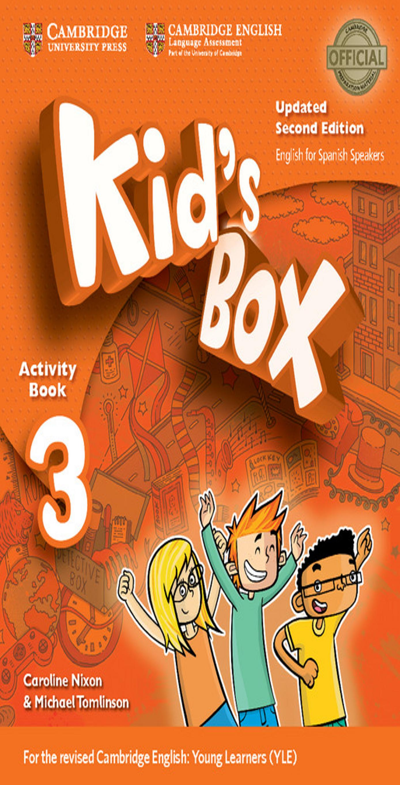 KID´S BOX 3 WB + Online Res + CD ROM + My Home Booklet 2nd Ed Updated