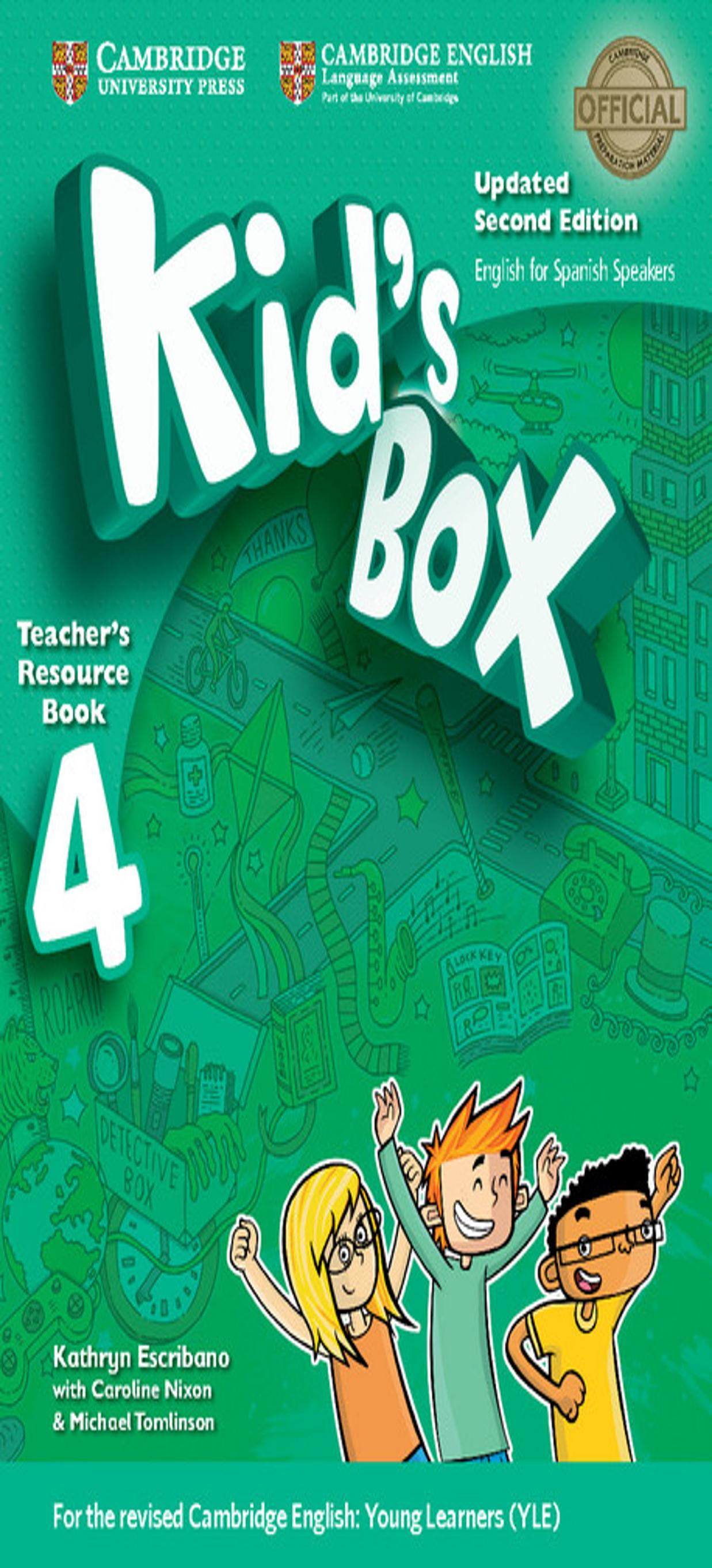 KID´S BOX 4 Teacher´s Resource Book + Online Audio 2nd Ed Updated