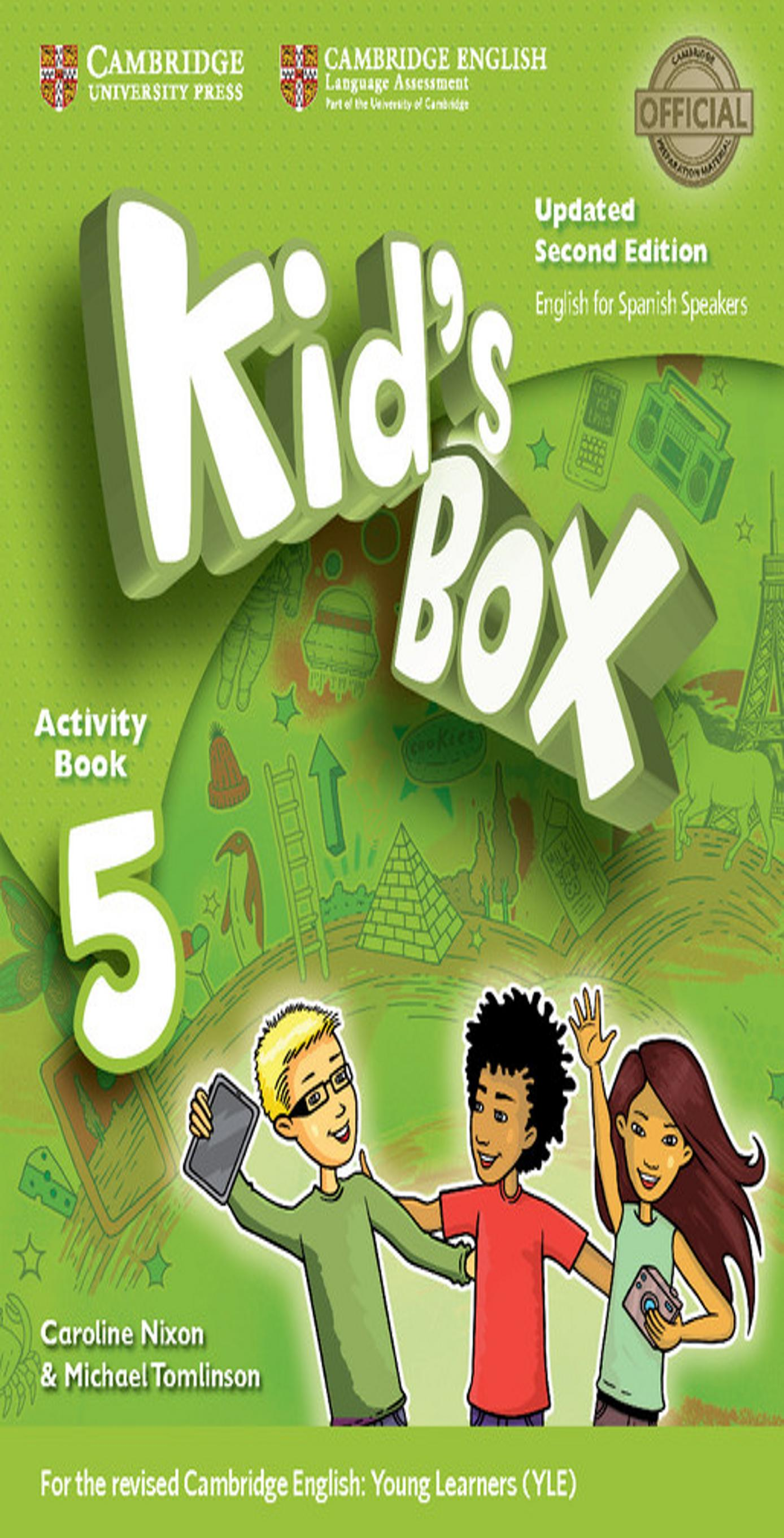 KID´S BOX 5 WB + Online Res + CD ROM + My Home Booklet 2nd Ed Updated