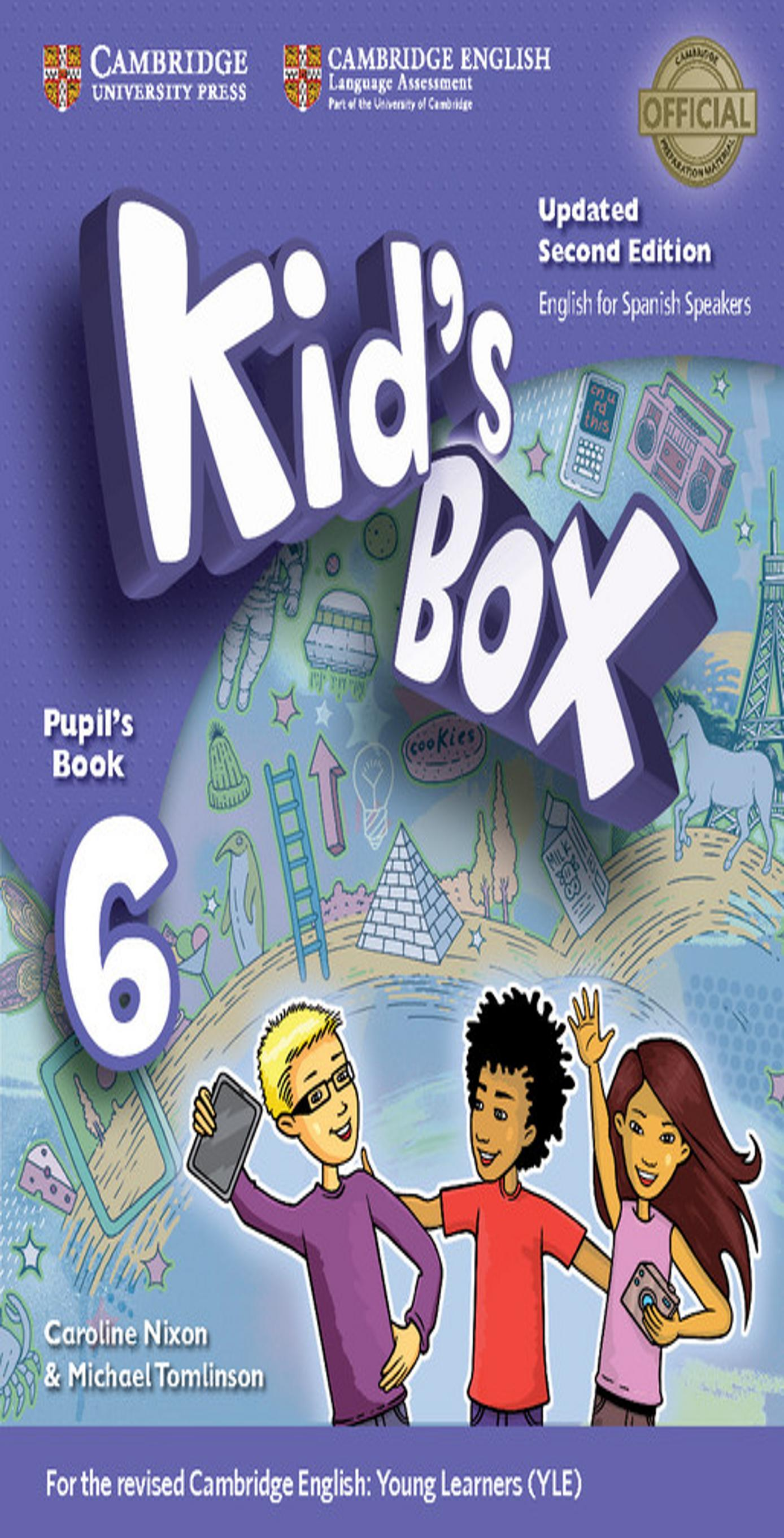 KID´S BOX 6 SB 2nd Ed Updated