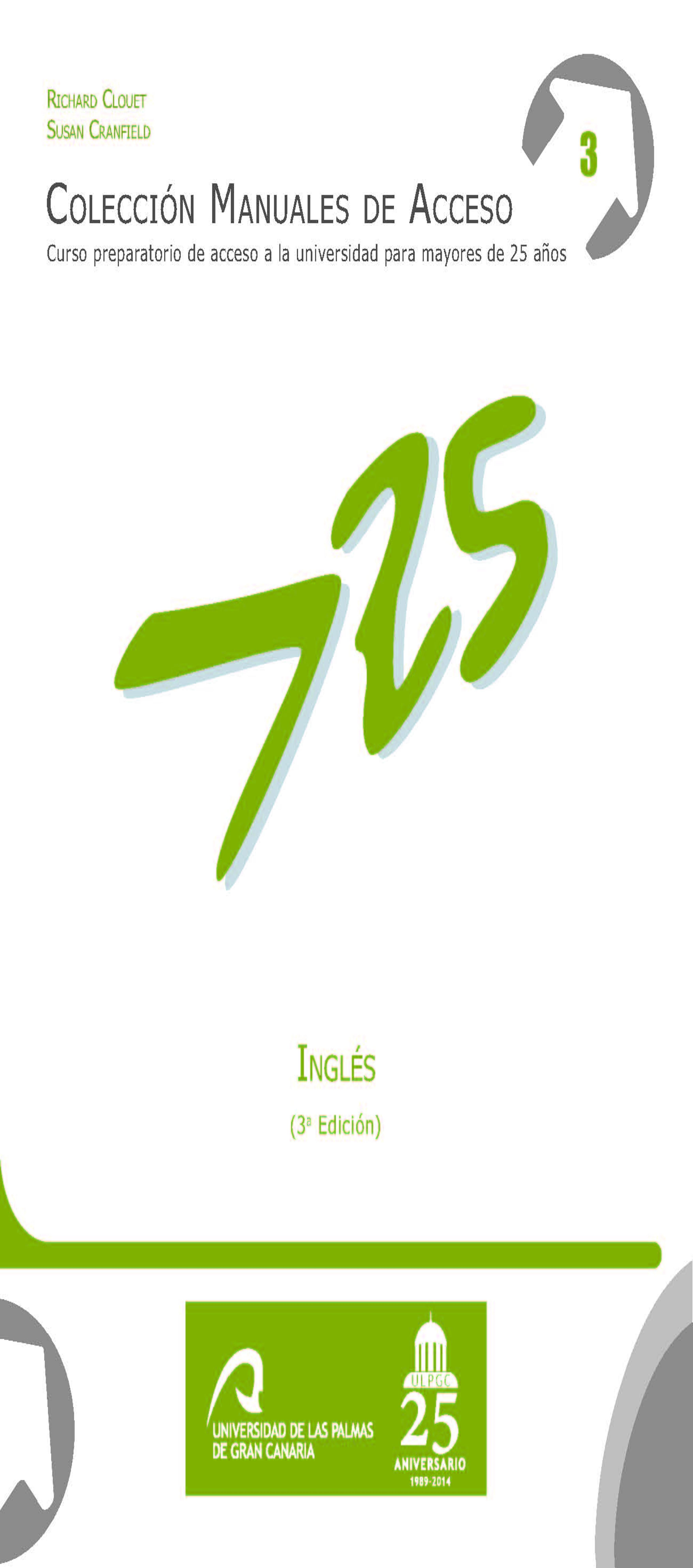 INGLES 3rd  Edition: CURSO PREPARATORIO MAYORES 25