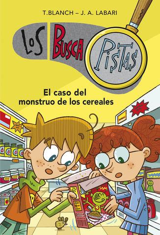 LOS BUSCAPISTAS Nº 6 el caso del monstruo de los cereales