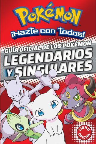 POKEMON guia oficial de los pokemon legendarios y singulares