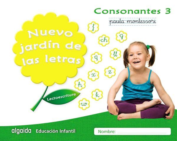 CONSONANTES 3 PAUTA - Nuevo Jardín de las Letras