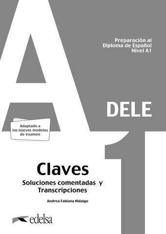 PREPARACION AL DELE A1 Claves - Adaptado Examen 2020
