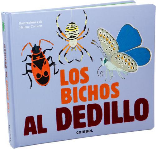 LOS BICHOS AL DEDILLO LIBRO DE TACTO