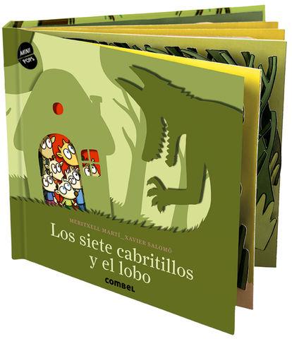 LOS SIETE CABRITILLOS Y EL LOBO mini-pops