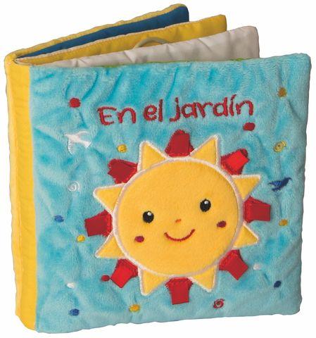 EN EL JARDIN libro de tela