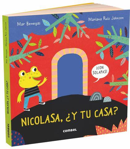 NICOLASA Y TU CASA libro de solapa