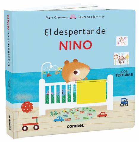 EL DESPERTAR DE NINO libro de solapa y texturas