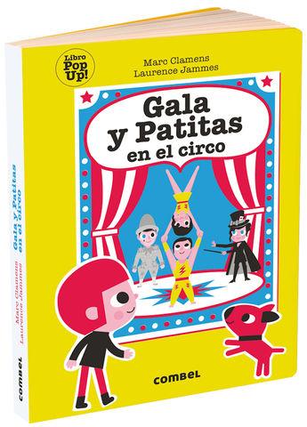GALA Y PATITAS EN EL CIRCO pop-up