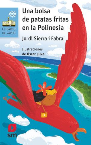BOLSA DE PATATAS FRITAS EN LA  POLINESIA,Una