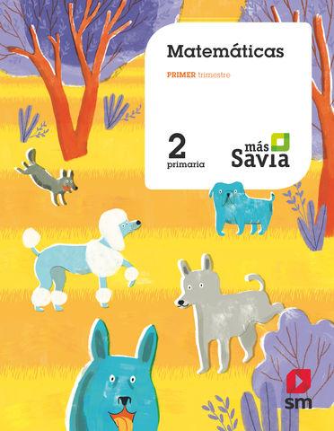 MATEMATICAS 2º PRIMARIA MAS SAVIA