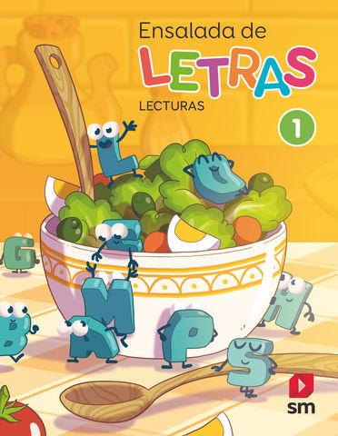 ENSALADA DE LETRAS LECTURAS 1