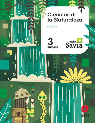 CIENCIAS DE LA NATURALEZA 3 Prim - MAS SAVIA