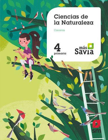 CIENCIAS DE LA NATURALEZA 4 PRIM - Proyecto Más Savia