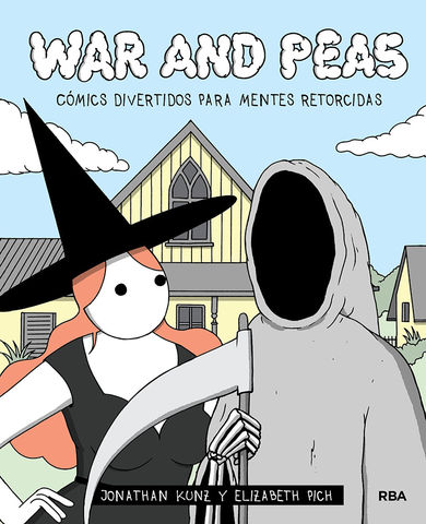 WAR AND PEAS. COMICS DIVERTIDOS PARA MENTES RETORC