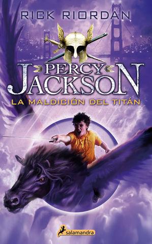 PERCY JACKSON III LA MALDICION DEL TITAN