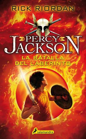 PERCY JACKSON nº4 la batallla del laberinto