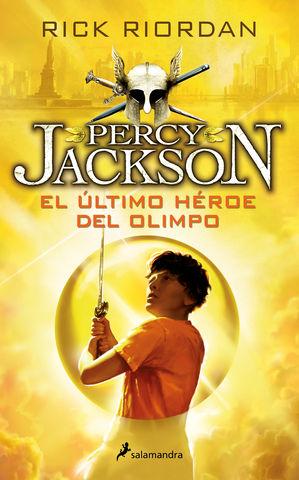 PERCY JACKSON Nº 5 el ultimo heroe del olimpo