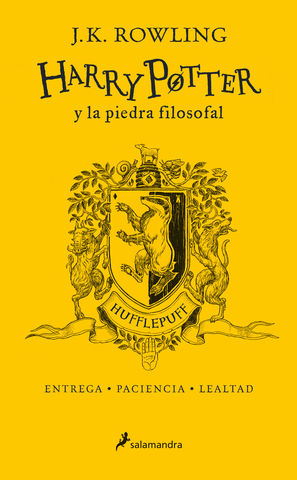 HARRY POTTER Y LA PIEDRA FILOSOFAL HUFFLEPUFF