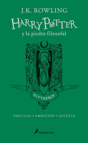 HARRY POTTER Y LA PIEDRA FILOSOFAL SLYTHERIN