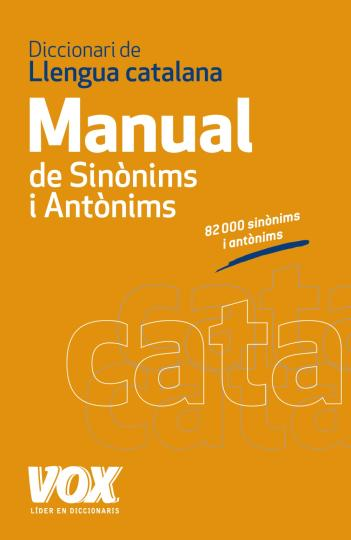 DICC MANUAL SINONIMOS Y ANTONIMOS Catalán