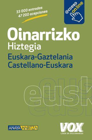 DICC Vox OINARRIZKO HIZTEGIA Euskera - Castellano / Cast.  - Euskera