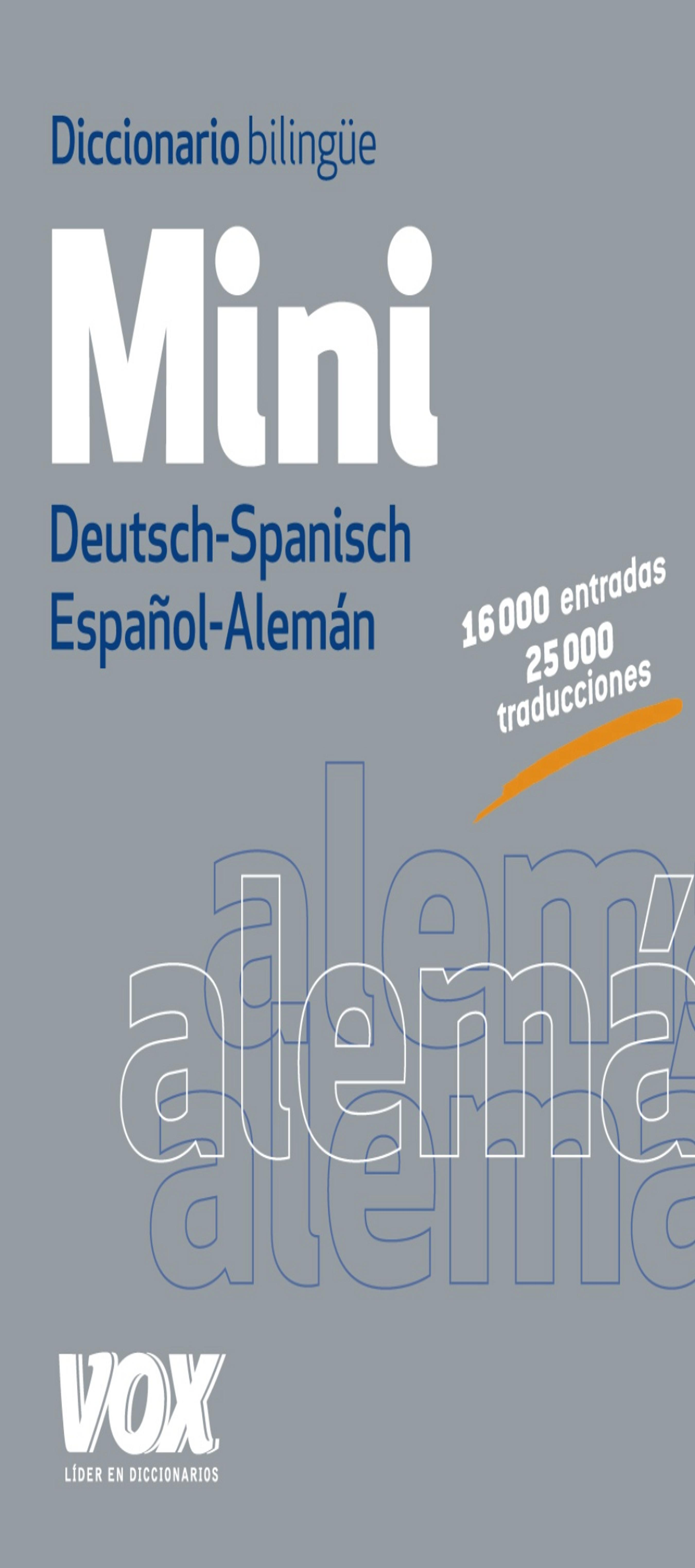 DICC Vox  MINI Alemán - Español / Español - Alemán