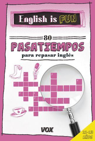 ENGLISH IS FUN 80 PASATIEMPOS 12 - 13