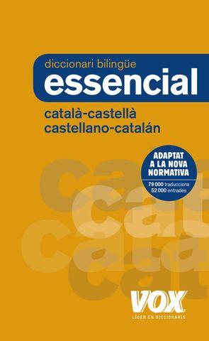 DICC Vox ESSENCIAL Castellano - Catalán / Català - Castellà