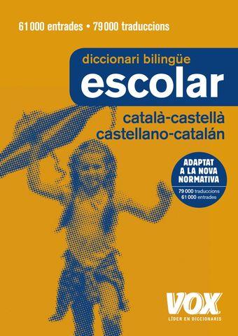 DICC Vox ESCOLAR Catalán - Castellano / Castellano - Catalán