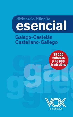 DICC Vox ESENCIAL Galego - Castelán / Castellano - Gallego