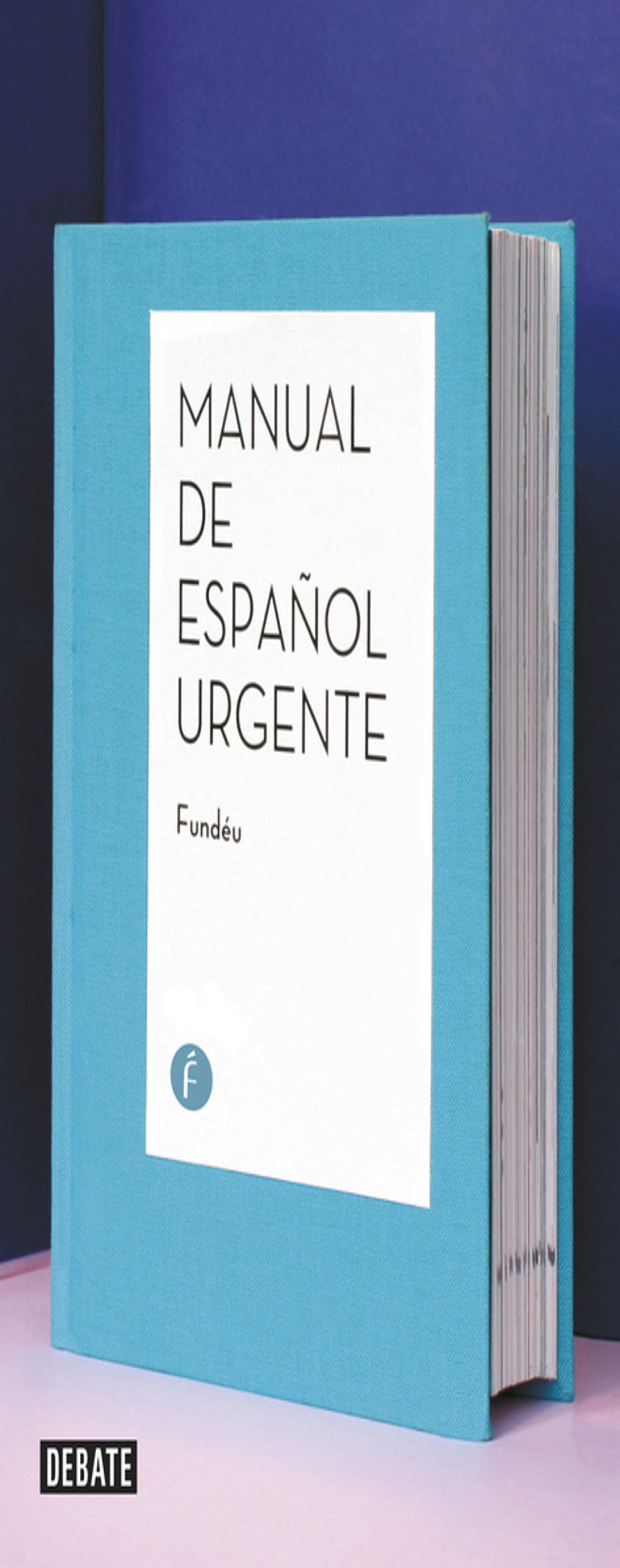 MANUAL DE ESPAÑOL URGENTE - Fundéu
