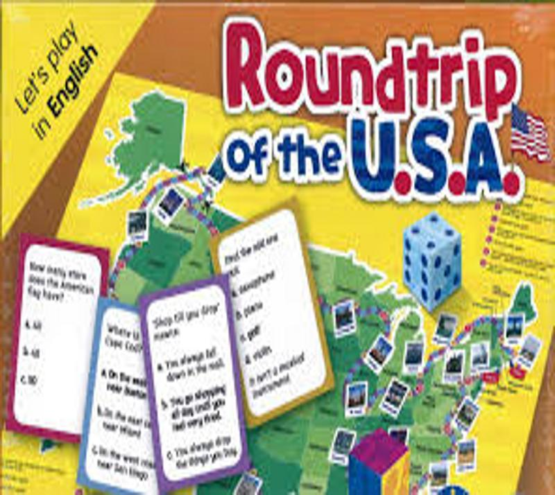 ROUNDTRIP OF THE USA  - Let´s Play in English