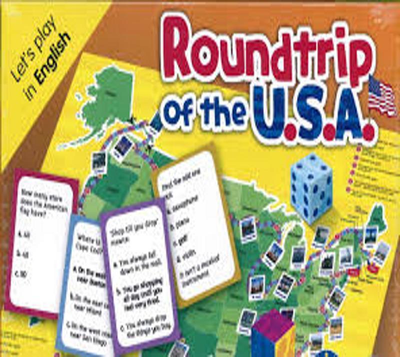 ROUNDTRIP OF THE USA - Eli Language Games