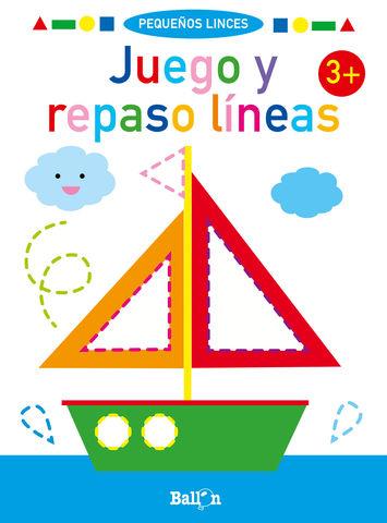 JUEGO Y REPASO LINEAS + 3