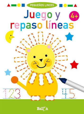 JUEGO Y REPASO LINEAS + 4