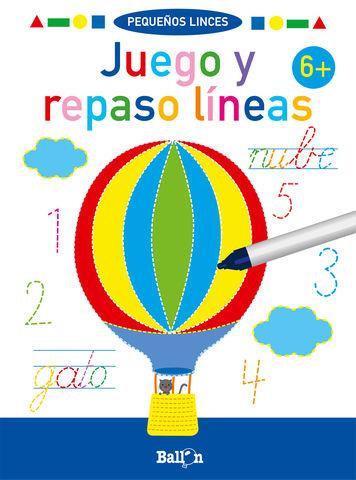 JUEGO Y REPASO LINEAS + 6