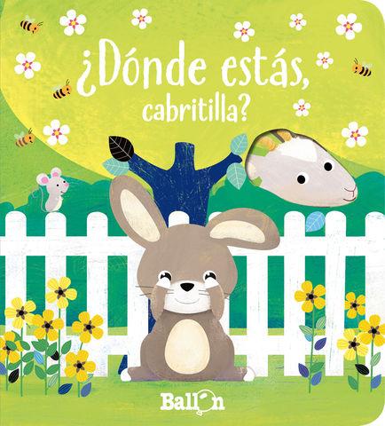 DONDE ESTAS CABRITILLA